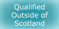 Qualified Outside of Scotland