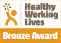 Healthy Working Lives Bronze Award