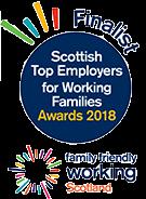 Family Friendly Working Scotland Finalist 2018